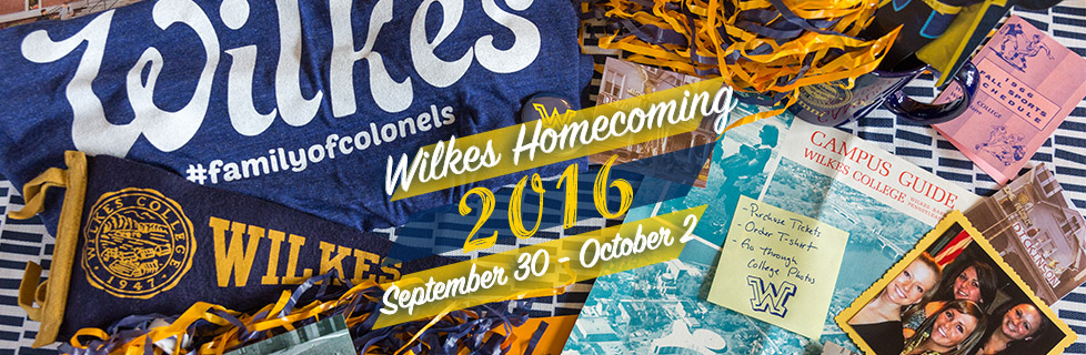 Register Now for Homecoming 2016!