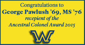 George Pawlush '69, MS '76 to Receive Ancestral Colonel Award